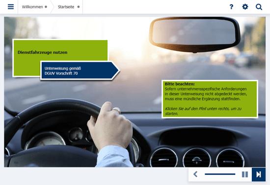 Fahrerunterweisung LapID Fahrerportal