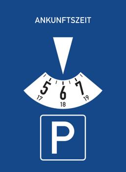 Parkscheibe-Zeichen-318-StVO