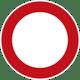 Verbot für alle Fahrzeuge_Zeichen Nr. 250