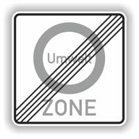 Zeichen 207.2 Ende Umweltzone