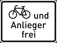 Zusatzzeichen_1020-12_Radfahrer_und_Anlieger_frei