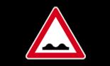 unebene Fahrbahn_Zeichen Nr. 112