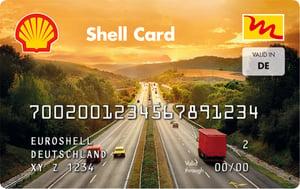 euroShell Tankkarte