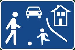 Verkehrsberuhigter Bereich 325-1 StVO