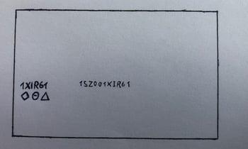 Zeichnung Führerschein