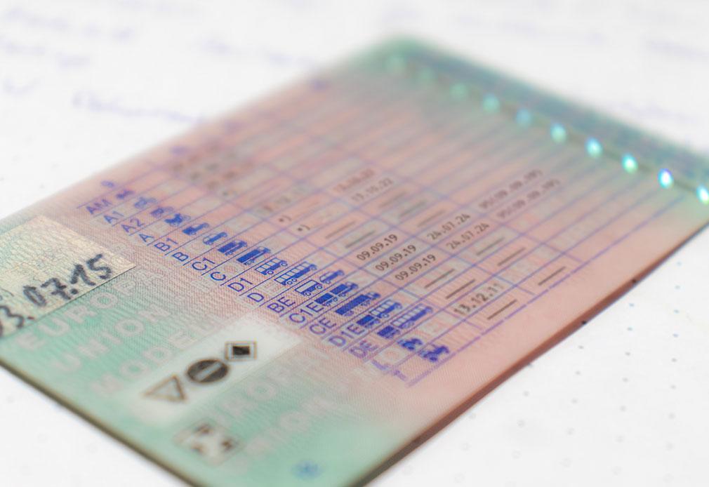 Die LapID Fahrerlaubnisklassenüberwachung im Einsatz
