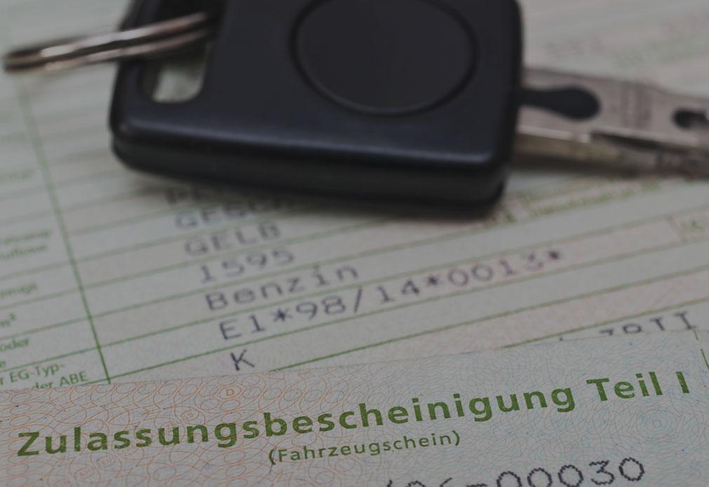 Fahrzeugzulassung