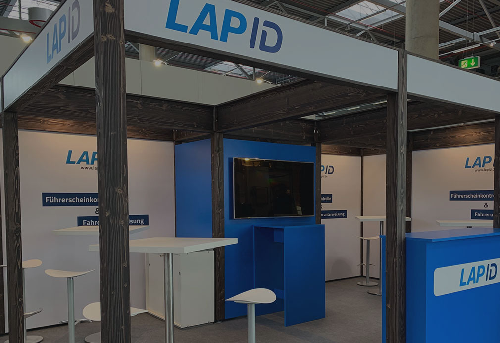 LapID Messestand bfp 2019