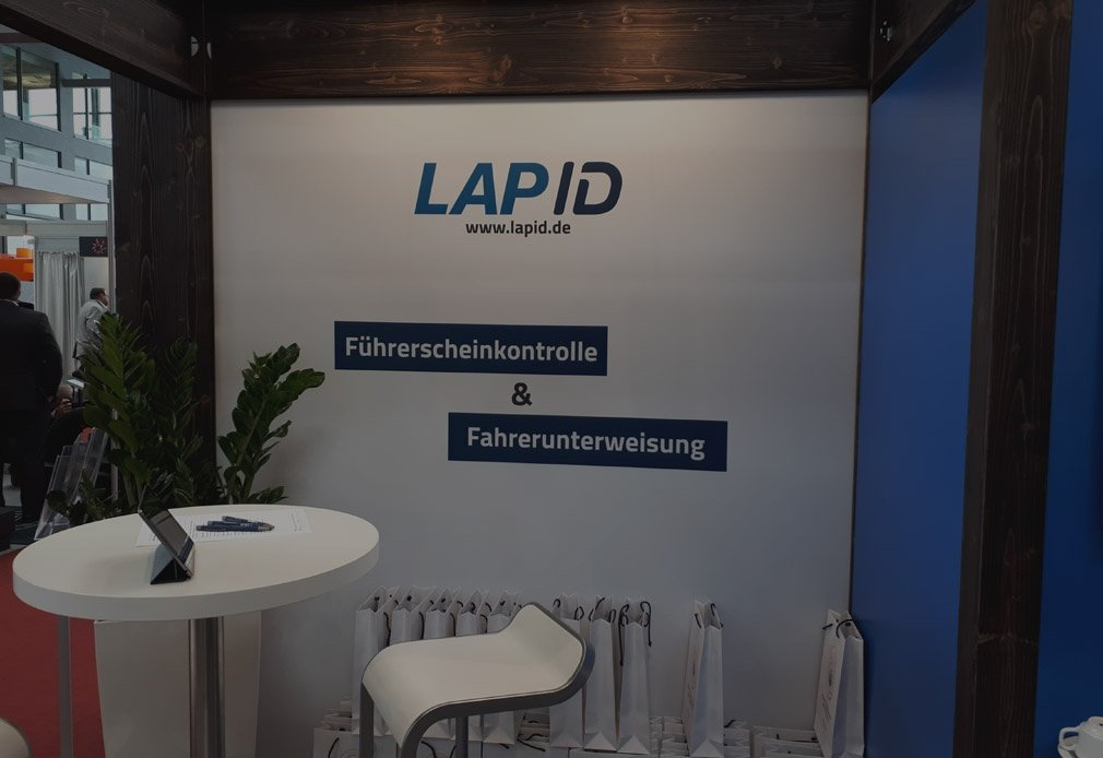 Messestand LapID bfp