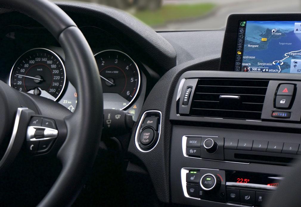 Navigationssystem Firmenwagen